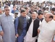 لاہور: قائد حزب اختلاف حمزہ شہباز پنجاب اسمبلی آر ہے ہیں۔