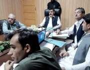 لکی مروت: ڈپٹی کمشنر شاہد سہیل انسداد پولیو کمیٹی کے اجلاس سے خطاب کر ..