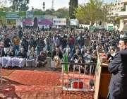 اسلام آباد: وفاقی وزیر ریلوے شیخ رشید احمد کشمیری لیڈر چوہدری غلام ..