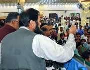 بہاولپور: وزیرمملکت انجینئر بلیغ الرحمن مسلم لیگ (ن) کے ورکرز کنونشن ..