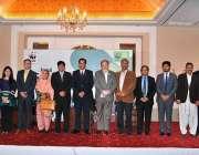 اسلام آباد: مشیر وزیر اعظم برائے موسمیاتی تبدیلی ملک امین اسلم کا سالانہ ..
