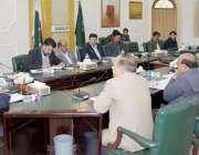 بہاولپور: سیکرٹری سپورٹس پنجاب محمد عامر جان کمشنر آفس میں سپورٹس کے ..