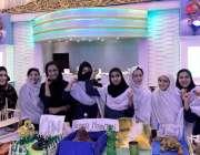 سوات: ضلعی انتظامیہ کی جانب سے منعقدہ دو روزہ سائنس فیسٹیول میں طالبات ..