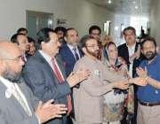 فیصل آباد: چیمبر آف کامرس اینڈ انڈسٹری میں انٹر نیشنل ڈائریکٹر آف انٹر ..