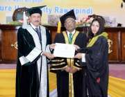 راولپنڈی: چیئرمین پاکستان ایگریکلچر ریسرچ کونسل ڈاکٹر یوسف ظفر، وائس ..