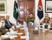 لاہور: انسپکٹر جنرل پولیس پنجاب ڈاکٹر سید کلیم امام سنٹرل پولیس آفس ..