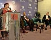 راولپنڈی: وفاقی وزیر برائے انسانی حقوق ڈاکٹر شیریں مزاری آزاد کشمیر ..