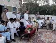 اٹک: امیدوار قومی اسمبلی حلقہ این اے56ملک شہر یار خان کھنڈا کانی گاؤں ..