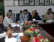 لاہور: صوبائی وزیر ہاؤسنگ اینڈ ڈویلپمنٹ میاں محمود الرشید سیمینار ..