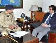 اسلام آباد: وفاقی وزیر برائے پلاننگ، ڈویلپمنٹ اینڈ ریفارم مخدوم خسرو ..