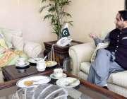 اسلام آباد: وزیراعلیٰ گلگت بلتستان حافظ حفیظ الرحمن اور نگران وزیربرائے ..