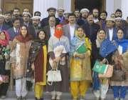 پشاور: صوبائی پاکستان پراجیکٹ میں شامل اراکن اسمبلی و سرکاری افسران ..