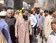 لاہور: لٹن روڈ پر غیر قانونی تجاوزات کے خلاف آپریشن کیا جار ہاہے۔