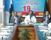 لاہور: میڈیکل سپریٹنڈنٹ جناح ہسپتال ڈاکٹر سہیل ثقلین ایچ ون، ایم ون ..
