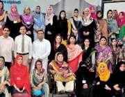 راولپنڈی: مقامی کالج میں ہائیرایجوکیشن پنجاب کی جاب سے لیکچررز کے تربیتی ..