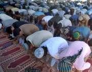 راولپنڈی: شہری ماہ رمضان کے دوسرے جمعتہ المبارک کی ادائیگی کر رہے ہیں۔