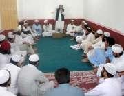 لوئردیر: جمعیت علماء اسلام کے امیدوار مفتی محمود ایڈوائزی میٹنگ کی ..