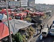 راولپنڈی: ٹی ایم اے کی نا اہلی کے بارعث پری ودھائی آئی جی پی روڈ کنارے ..