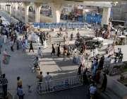 راولپنڈی: عید سے قبل چاند رات کو شدید بارش کے باعث نالہ لئی میں ڈوبنے ..