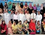 راولپنڈی: مقامی کالج میں ہائیر ایجوکیشن پنجاب کی جانب سے لیکچررز کے ..