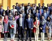 کراچی: سول سروس اکیڈمی کے تحت جاری41ویں اسپیشلائزڈ ٹریننگ پروگرام کے ..