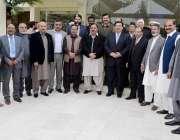 راولپنڈی: وفاقی وزیر دفاع خرم دستگیر، ایم این اے ملک ابرار، وائس پریذیڈنٹ ..