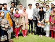 لاہور: صوبائی وزیر اقلیتی امور و انسانی حقوق خلیل طاہر سندھو کا راولپنڈی ..