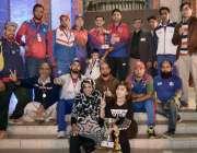 لاہور: ڈیسکون سپورٹس کمپلیکس میں ملازمین کے درمیان مختلف کھیلوں کے ..