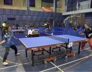 لاہور: سپورٹس بورڈ پنجاب کے زیر اہتمام55ویں نیشنل ٹیبل ٹینس چمپئن شپ2018کے ..