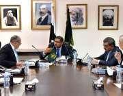 اسلام آباد: نگران وفاقی وزیر انجینئر سید علی ظفر اعلیٰ سطحی اجلاس کی ..