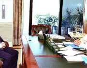 اسلام آباد: صدر مملکت ڈاکٹر عارف علوی سے جیف جسٹس آزاد جموں و کشمیر ..