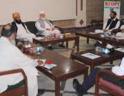 اسلام آباد: متحدہ مجلس عمل پاکستان کی مرکزی خصوصی مشاورتی اجلاس جنرل ..