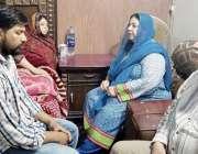 لاہور: وزیر صحت پنجاب ڈاکٹر یاسمین راشد گنگا رام ہسپتال میں آتشزدگی ..