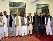 کوئٹہ: بلوچستان عوامی پارٹی کے بانی سید احمد ہاشمی، ولی محمد نورزئی ..