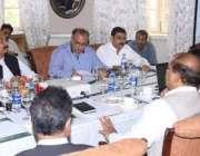 لاہور: سینئر وزیر پنجاب عبدالعلیم خان نئے بلدیاتی نظام کے فالو اپ اجلاس ..