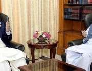 اسلام آباد: سپیکر پنجاب اسمبلی چوہدری پرویز الٰہی ڈپٹی سپیکر قومی اسمبلی ..