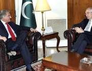 اسلام آباد: وفاقی وزیر خارجہ مخدوم شاہ محمود قریشی سے سپینش سفیر ملاقات ..