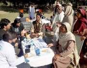 لاہور: پاکستان رینجرز سیون ونگ کے زیر اہتمام اخوت کے تعاون سے شریف پورہ ..