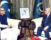اسلام آباد: صدر مملکت ڈاکٹر اعارف علوی سے مصر کے سفیر احمد فاضل یعقوب ..