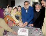 لاہور: یو سی145ہربنس پورہ میں لیڈی کونسلر ڈاکٹر نصرت کی رہائش گاہ پر ..