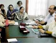 لاہور: صوبائی وزیر صحت ڈاکٹر یاسمین راشد سے نرسنگ ایسوسی ایشن کا وفد ..