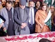 کراچی: پاکستان قومی اتحاد فیڈریشن کے تحت سانحہ پی ایس پشاور کے شہیدوں ..