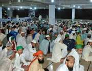 ملتان: ماہ رمضان کے موقع پر فیضان مدینہ میں اعتکاف پر بیٹھنے والے روزہ ..