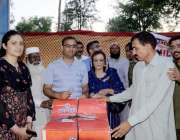 اٹک: ڈی پی او اٹک عبادت نثار جناح پارک میں پولیس فیملی گالا پروگرام ..