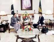 لاہور: وزیر اعلیٰ پنجاب سردار عثمان بزدار سے برطانیہ کے ڈیپارٹمنٹ فار ..