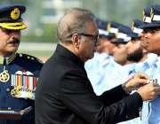 رسالپور: صدر مملکت ڈاکٹر عارف علوی رسالپور میں کیڈٹس کی پاسنگ آؤٹ پریڈ ..