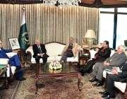 اسلام آباد: صدر مملکت ڈاکٹر عارف علوی سے چیئرمین پریس کونسل آف پاکستان ..