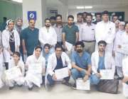 لاہور: جنرل ہسپتال کے شعبہ سرجیکل میں ڈاکٹرز اور عملی کی ہم آہنگی پر ..