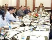 لاہور:نگران وزیراعلیٰ پنجاب ڈاکٹر حسن عسکری سیاسی جماعتوں کے نمائندوں ..