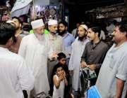 کراچی: متحدہ مجلس عمل کے حلقہNA-247سے نامزد امیدوار محمد حسین محنت اپنی ..